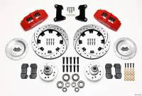 Front Brake Kits - Street / Truck - Wilwood Dynapro 6 Big Brake Front Brake Kits (Hub) - Wilwood Engineering - Wilwood Front Disc Brake Kit 74- 78 Mustang 12.19 Drilled