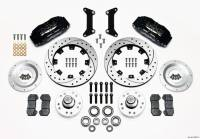 Front Brake Kits - Street / Truck - Wilwood Dynapro 6 Big Brake Front Brake Kits (Hub) - Wilwood Engineering - Wilwood Dynapro 6 Big Brake Front Brake Kit (Hub) - 80-87 GM G-Body