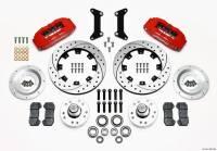 Front Brake Kits - Street / Truck - Wilwood Dynapro 6 Big Brake Front Brake Kits (Hub) - Wilwood Engineering - Wilwood Dynapro 6 Big Brake Front Brake Kit (Hub) - 80-87 GM G-Body