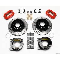 "Rear Brake Kits - Street / Truck - Wilwood Forged Dynalite Rear Parking Brake Kits - Wilwood Engineering - Wilwood Rear Disc Brake Kit with Park BOP 2.75"" Offset"