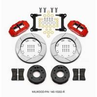 Front Brake Kits - Street / Truck - Wilwood Superlite 4R Big Brake Front Brake Kits (Hat) - Wilwood Engineering - Wilwood Front Disc Brake Kit C10 Pro Spindle 12.19in