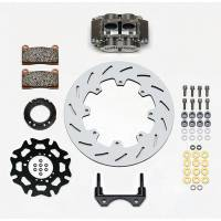 "Brake Systems - Sprint Car Brake Kits - Wilwood Engineering - Wilwood Rear Inboard Sprint Kit 12"" Titanium Rotor"