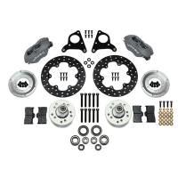 Front Brake Kits - Drag - Wilwood Forged Dynalite Big Brake Front Hub Kits - Wilwood Engineering - Wilwood Drag Front.MD Disc Spindle
