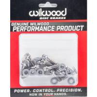 Hardware and Fasteners - Wilwood Engineering - Wilwood Rotor Bolt Kit Stainless Hat/Rotor Set of 12