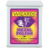 Car Care and Detailing - Metal Cleaner & Polish - Wizard Products - Wizard Metal Polish 3 oz.