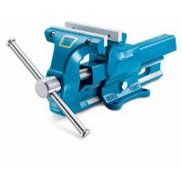 "Tools & Pit Equipment - Woodward Fab - Woodward Fab 120mm Bench Vise 4-3/4"" With Replaceable Jaws"