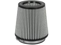 """Air Filter Elements - Universal Conical Air Filters - aFe Power - aFe Power Pro Dry S Air Filter Element - Conical - 7"""" Base Diameter - 5-1/2"""" Top Diameter - 7"""" Tall - 5-1/2"""" Flange - Synthetic"""