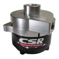 "Cooling & Heating - CSR Performance Products - CSR Performance Products Remote Mount Electric Water Pump - Dragster - 1/2"" NPT Inlet - 1/2"" NPT Outlet - Billet Aluminum - Clear Anodized"
