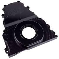 Engine Components - CVR Performance Products - CVR Performance Products Timing Cover - 2 Piece - Aluminum - Black Anodized - GM LS-Series