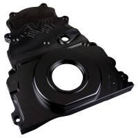 Engine Components - CVR Performance Products - CVR Performance Products Timing Cover - 2 Piece - Cam Sensor - Black Anodized - GM LS-Series