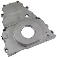Engine Components - CVR Performance Products - CVR Performance Products Timing Cover - 2 Piece - Cam Sensor - Aluminum - GM LS-Series