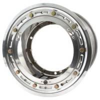 "Mini / Micro SprintWheels - Mini Sprint Front Wheels - Keizer Aluminum Wheels - Keizer Micro / Mini Sprint Direct Mount Beadlock Wheel - 10 x 7"" - 4.000"" Back Spacing - Polished"