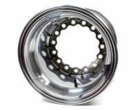 "Wheels and Tire Accessories - Keizer Aluminum Wheels - Keizer Matrix Modular Aluminum Wide 5 Pro Ring Inner Beadlock Wheel - 15 x 14"" - 5.000"" Back Spacing - Wide 5 Bolt Pattern - Polished"