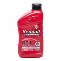 Kendall Motor Oil - Kendall® GT-1 High Performance Motor Oil with Liquid Titanium - Kendall Oil - Kendall GT-1 High Performance 5W30 Semi-Synthetic Motor Oil - 1 Quart