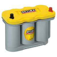 "Optima Batteries - Optima YellowTop D27F AGM Battery - 12V - 1025 Cranking Amp - Top Post Terminals - 12.16"" L x 8.61"" H x 6.76"" W"