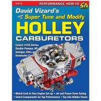 Books, Video & Software - Carburetor Books - S-A Books - David Vizard's How to Super Tune and Modify Holley Carburetors