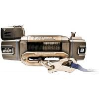 "Trailer & Towing Accessories - Superwinch - Superwinch EXP8SI Winch - 8000 lb. Capacity - Hawse Fairlead - 15 Ft. Remote - 3/8"" x 100 Ft. Synthetic Cable - 12V"