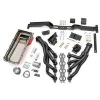 Exhaust System - Engine Swap Kits - Trans-Dapt Performance - Trans-Dapt Swap-In-A-Box Engine Conversion Kit  -  Auto / Manual Trans  -  LS Series  -  GM G - Body 1982 - 88