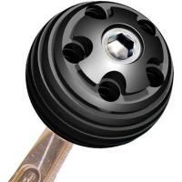 "Drivetrain Components - Longacre Racing Products - Longacre Aluminum Shifter Knob - 3/8""-16 Thread - 2"" Diameter"