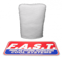 Driver Cooling - Helmet Blower Replacement Filters - FAST Cooling - FAST Cooling Replacement 3M Filtrete Sock Filter for Sidekick Blower