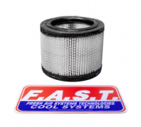 "Driver Cooling - Helmet Blower Replacement Filters - FAST Cooling - FAST Cooling Replacement 4"" Filter"