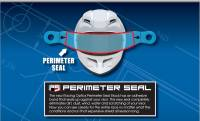 Racing Optics - Racing Optics Perimeter Seal Tearoffs - Clear - Fits Bell 287 Shield - Pyrotect - Velocity - Banana - Image 2
