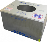 "Fuel Cells, Tanks and Components - Fuel Cell Cans - ATL Racing Fuel Cells - ATL Aluminum Fuel Cell Can - 24 Gallon - 25"" x 25"" x 10"" - Dirt"