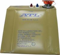 "ATL Fuel Bladders - ATL Formula & Sports Racer Fuel Bladders - ATL Racing Fuel Cells - ATL Formula & Sports Racer Wedge Bladder - 5 Gallon - 4"" x 9"" x 15"" x 16"" - 2-1/4"" Filler Neck - FIA FT3"