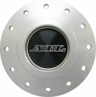 """Fuel Cells, Tanks and Components - Fuel Cell Dry Break Valves - ATL Racing Fuel Cells - ATL Dry Break Refueling Receptacle - Tank Mount - 2-1/4"""" Female - 4-3/4"""" Bolt Circle"""