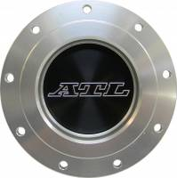"""Fuel Cells, Tanks and Components - Fuel Cell Dry Break Valves - ATL Racing Fuel Cells - ATL Dry Break Receptacle - Tank Mount - 2-1/4"""" Female - 4"""" Bolt Circle - 9 Hole"""