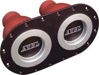"""Fuel Cells, Tanks and Components - Fuel Cell Dry Break Valves - ATL Racing Fuel Cells - ATL Dual Dry Break Refueling Receptacle - Female - 4-1/2"""" Centers"""