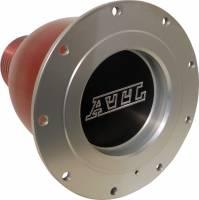 "Fuel Cells, Tanks and Components - Fuel Cell Dry Break Valves - ATL Racing Fuel Cells - ATL Dry Break Refueling Receptacle w/ Aluminum Bulb - Female - 2-1/4"" Hose w/ Aluminum Bulb."