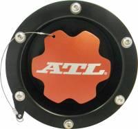 """Fuel Cells, Tanks and Components - Fuel Cell Fender Fillers - ATL Racing Fuel Cells - ATL Recessed Fender Filler w/ Billet Aluminum Cap - 2-1/4"""" O.D. Fill - Steel"""
