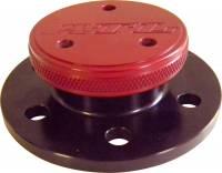 Fuel Cells, Tanks and Components - Fuel Cell Filler Necks - ATL Racing Fuel Cells - ATL Mini Fill Neck With Screw Cap - 2.18 Bolt Circle - Aluminum