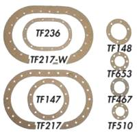 """Fuel Cells, Tanks and Components - Fuel Cell Filler Plate Gaskets - ATL Racing Fuel Cells - ATL Viton Fill Plate Gasket - 2-3/16"""" Bolt Circle, 6-Bolt"""
