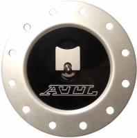 """Fuel Cells, Tanks and Components - Fuel Cell Filler Caps - ATL Racing Fuel Cells - ATL Flush Mount Aluminum Cap - 2-1/2"""" Opening - 4-3/4"""" Bolt Circle"""