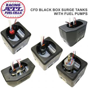 ATL CFD Black Box Surge Tank Kits with Fuel Pumps