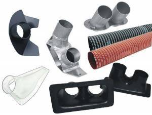 Brake System - Brake Cooling Kits and Components
