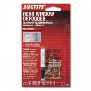 Rear Window Defogger Tab Adhesives
