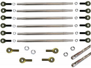 Sprint Car Parts - Radius Rods & Rod Ends - Sprint Car Radius Rod Kits