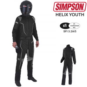 Kids Race Gear - Kids Racing Suits - Simpson Helix Youth Suits - $399.00