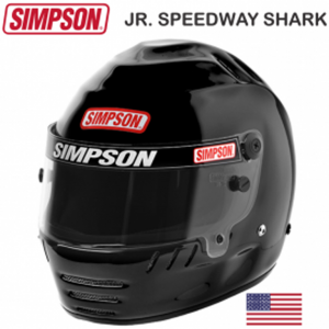 Helmets - Youth Helmets - Simpson Jr. Speedway Shark Helmets - SALE $399.95