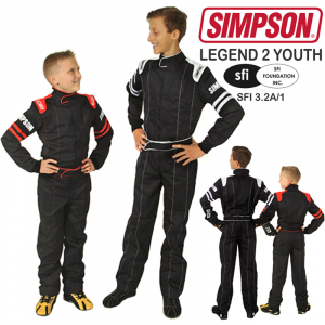 Racing Suits - Youth Racing Suits - Simpson Legend II Youth Racing Suit - $129.95