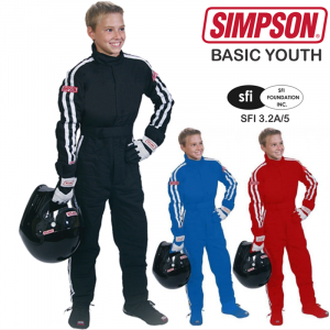Racing Suits - Youth Racing Suits - Simpson Basic Youth STD.19 Driving Suit - $269.95