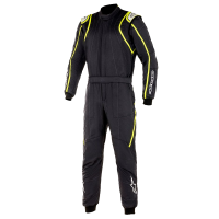 Alpinestars Racing Suits - Alpinestars GP Race v2 Suit - $699.95 - NEW! - Alpinestars - Alpinestars GP Race V2 Suit - Black/Yellow Fluo - PRE-ORDER