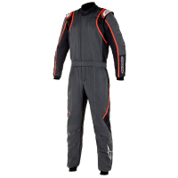 Alpinestars Racing Suits - Alpinestars GP Race v2 Suit - $699.95 - NEW! - Alpinestars - Alpinestars GP Race V2 Suit - Anthracite/Black/Red
