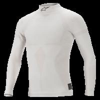 Underwear - Alpinestars Underwear - Alpinestars - Alpinestars ZX EVO v2 Top - White/Gray - PRE-ORDER