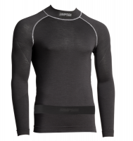 Underwear - Simpson Underwear - Simpson Race Products - Simpson Pro-Fit Base Layer Top - Long Sleeve - Black
