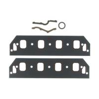 """Intake Manifold Gaskets - Intake Manifold Gaskets - SB Chevy - Clevite Engine Parts - Clevite Intake Manifold Gasket Set - 1.500 x 2.000"""" Rectangular Port - SB Chevy"""