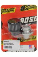 Moroso - Moroso Breather - Screw-In - Round - GM LS Single Tab - Clamp-On Filter